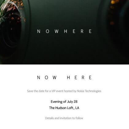 Nokia VR Event