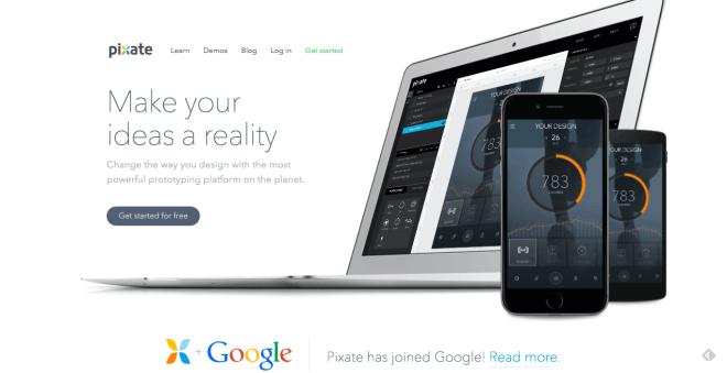 Prototyping-Service Pixate