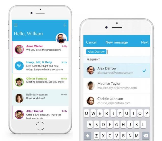 "Microsoft App ""Send"" für iOS"