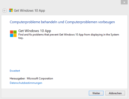 """Get Windows 10""-Troubleshooter"