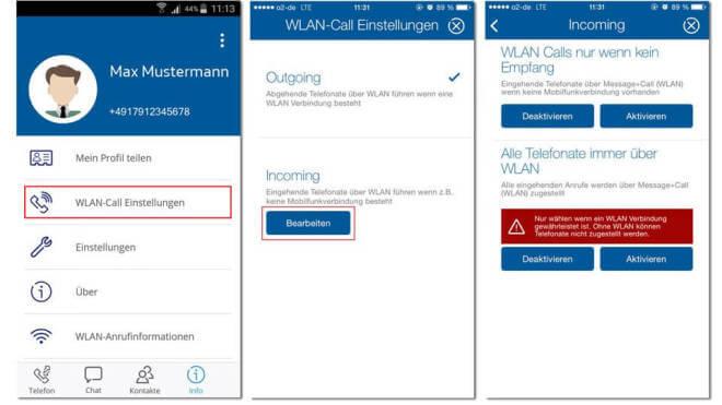 O2 Message+Call App