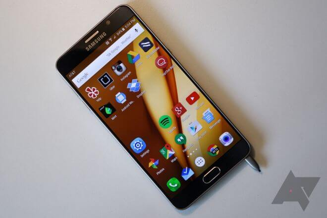 Samsung Galaxy Note 5 Hands On