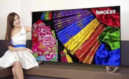 Innolux: 65-Zoll-Panel mit 8K-Auflösung