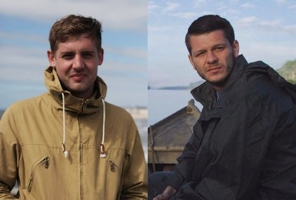 Vice-Reporter Philip Pendlebury und Jake Hanrahan