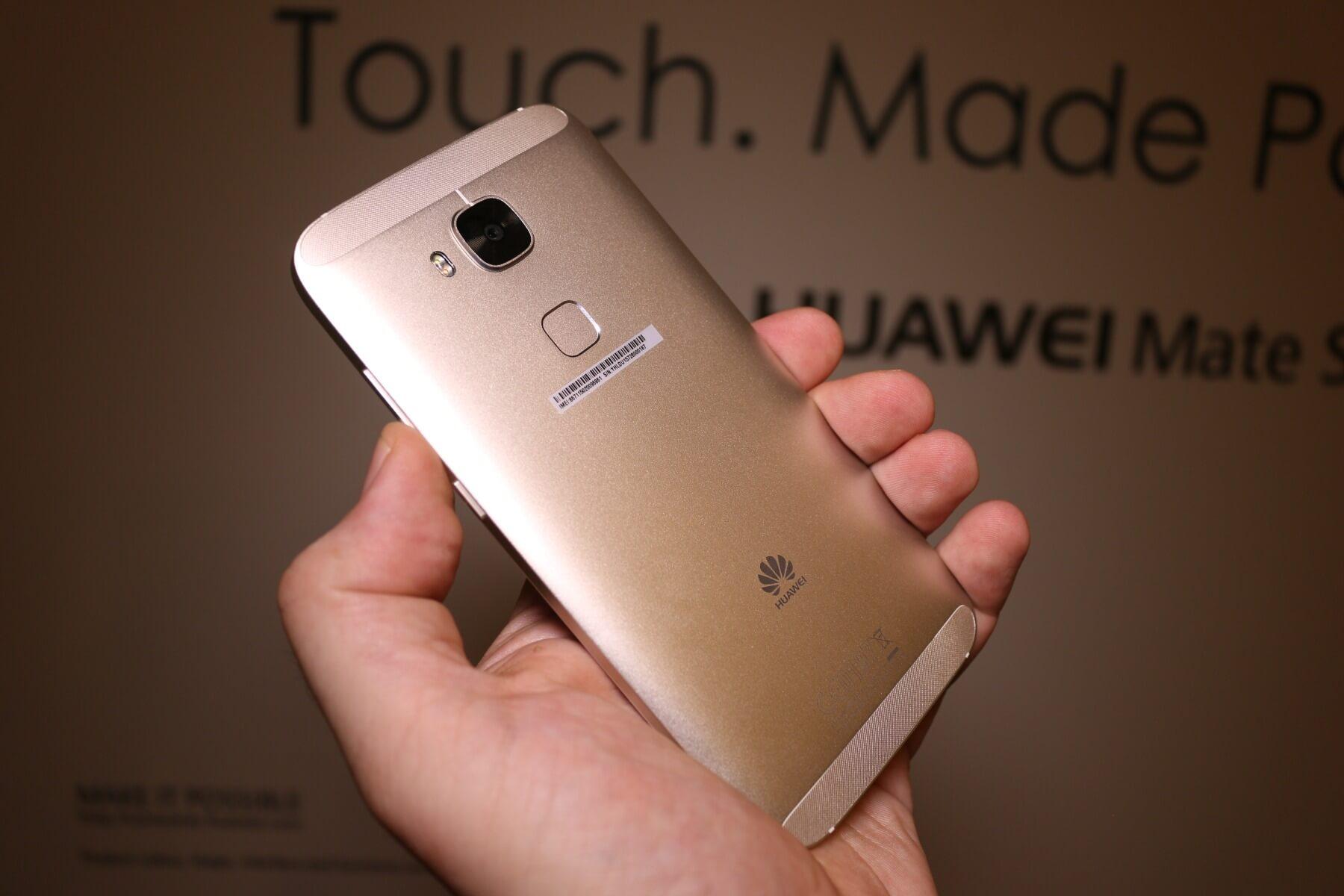 Huawei G8 Fast Schon High End Ausstattung In Der Mittelklasse
