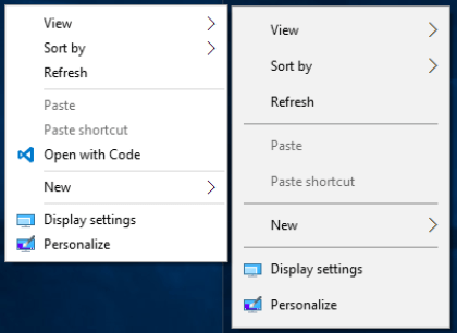 Windows 10 Build 1053X: Neue und alte Icons