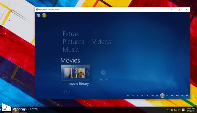 Windows 10: Media Center Workaround (Windows Central)