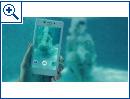 Xperias unter Wasser