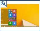 Startmen� f�r Windows 8.1 RT