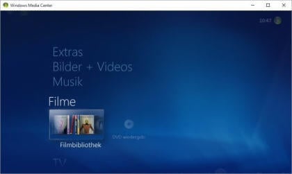 Windows Media Center für Windows 10 - Inoffizielle Version