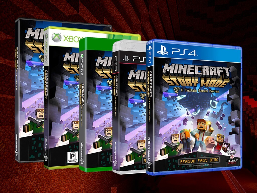 Minecraft Story Mode Ab Oktober Für Xbox PlayStation PC Mac - Minecraft zusammen spielen ps3
