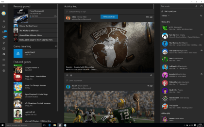 Xbox-App für Windows 10