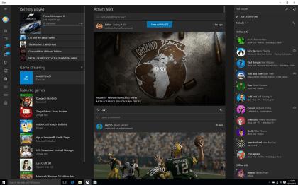 Xbox-App für Windows 10