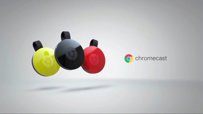 Google New Chromecast