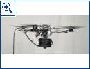 Drohnen bauen H�ngebr�cke
