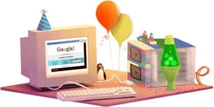 Google 17. Geburtstag