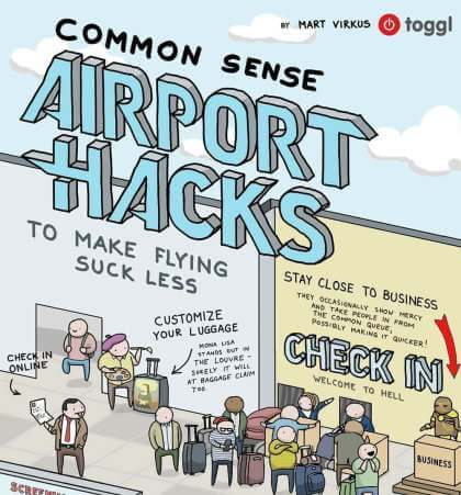 Flughafen Hacks - So wird Fliegen entspannter