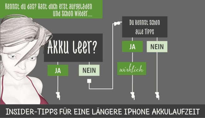 So lässt sich die Akkulaufzeit beim iPhone erhöhen