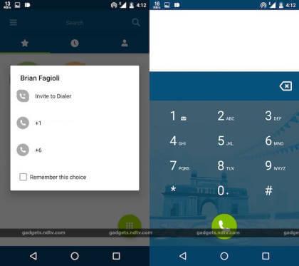 Microsoft Dialer App