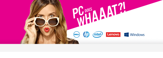 PC Does What? Kampagne