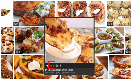Bing: Rezepte zu Bildern