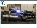 Selbstgebastelte Railgun