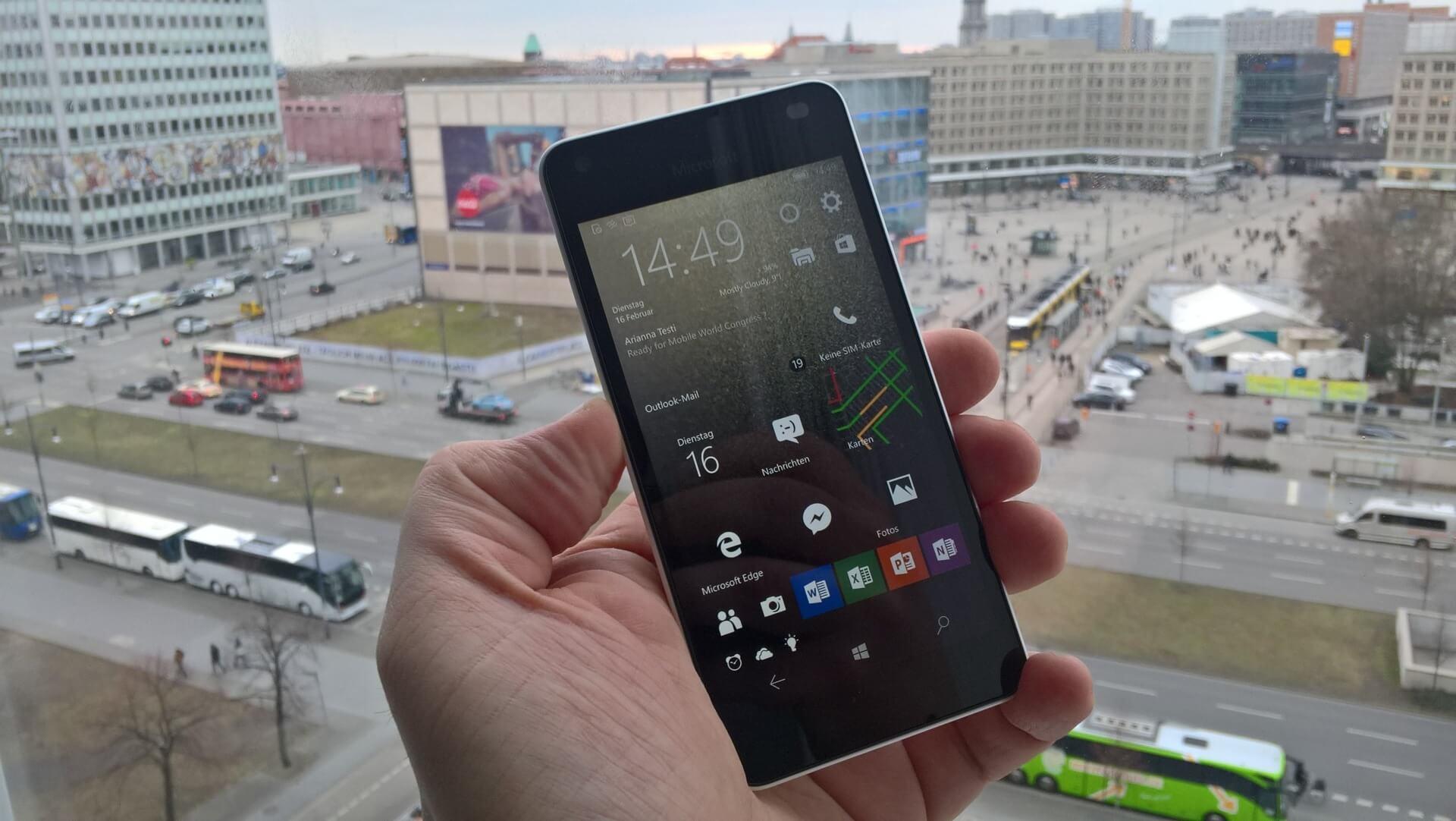 Erster Eindruck Microsofts Neues Lumia 650 Lohnt Sich