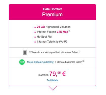 "Telekom ""Data Comfort Premium"""