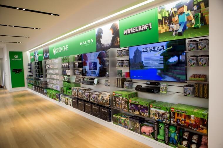 Microsoft Flagship Store New York Fifth Avenue