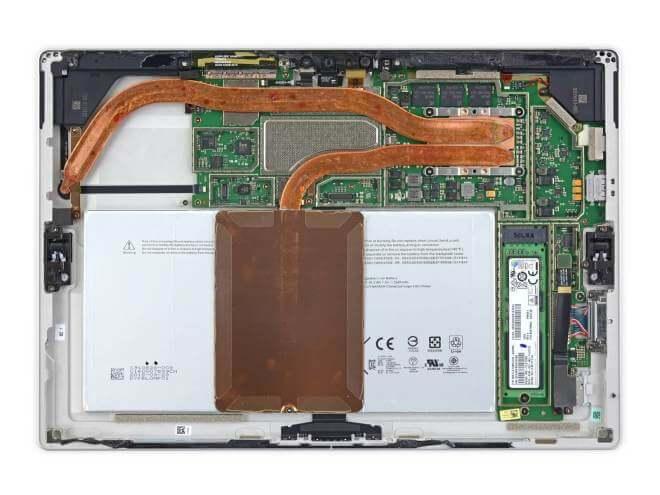 Microsoft Surface Pro 4 im iFixit Teardown