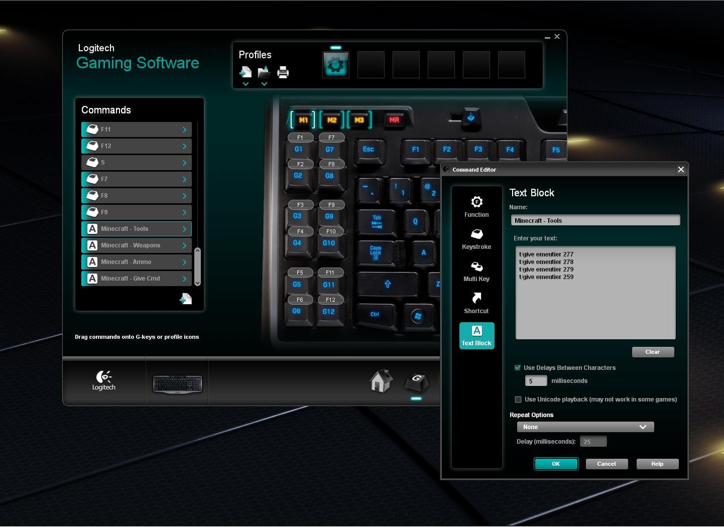Logitech Gaming Software - Spiele-Hardware individuell
