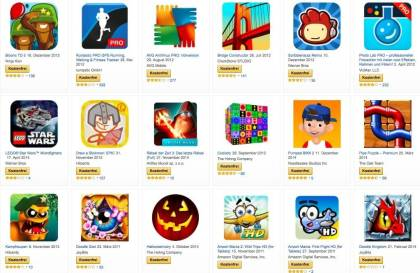 Amazon: Gratis-Apps zu Halloween