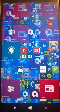 Windows 10 Mobile Build 10581