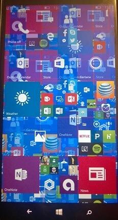 Windows 10 Mobile Build 10581