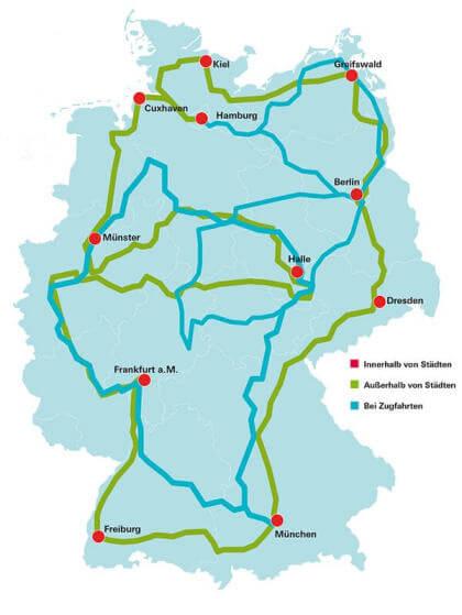 Stiftung Warentest: Mobilfunk-Netztest (10/2015)