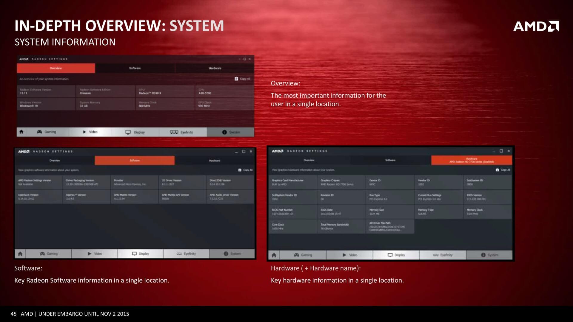 Radeon Software Crimson ReLive-Edition (Win 8 1) - AMD-Treiber Download