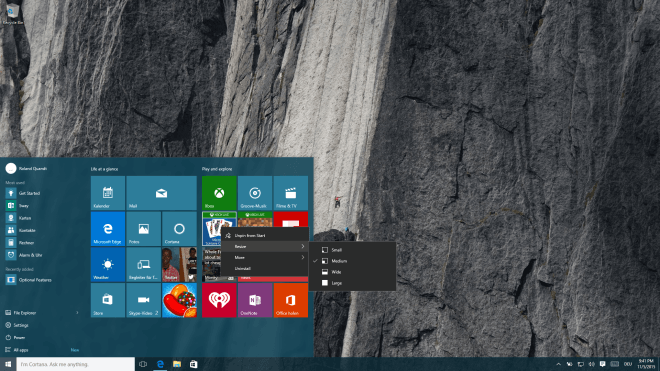 Windows 10 Build 10586