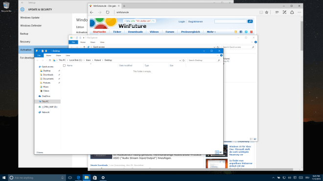 Windows 10 Build 10586