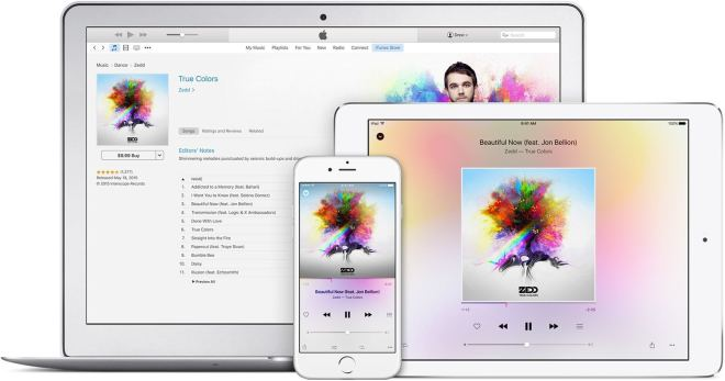 Apple Music App f�r Android