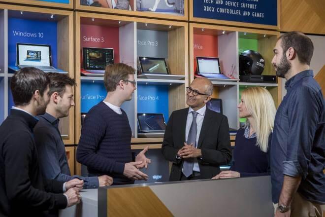 Microsoft Rechenzentren EU