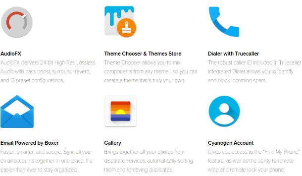 Cyanogen Apps Package