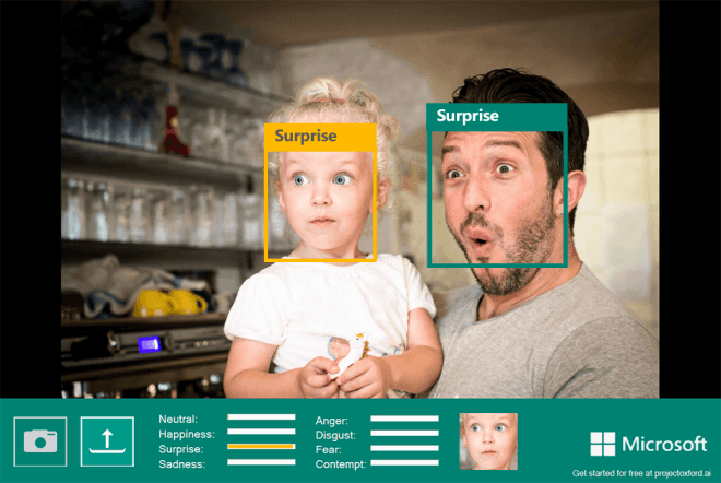 Microsoft Research: Emotion Recognition mit Project Oxford