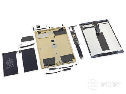 iPad Pro Teardown von ifixit