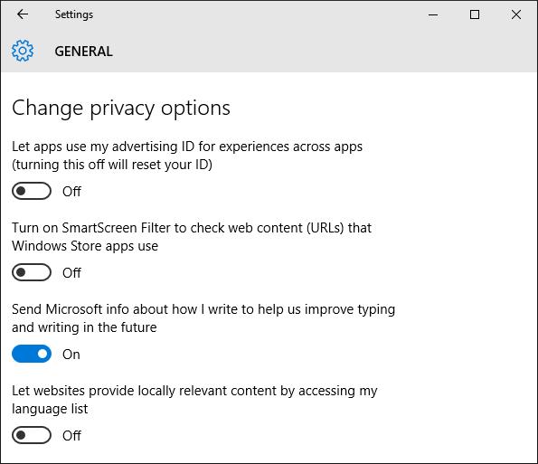Windows 10: Erfassung von Nutzer-Eingaben