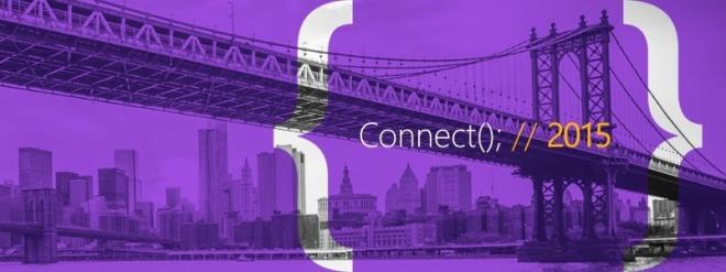 Microsoft Connect(); //2015
