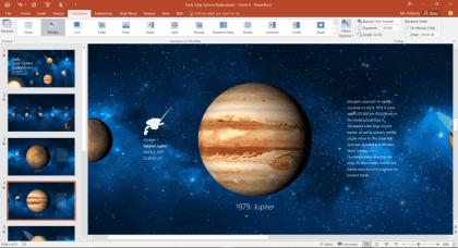 PowerPoint: Designer und Morph