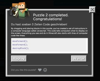 Minecraft Neues CodingTutorial Für Kids Schüler Co Vorgestellt - Minecraft online spielen ab welchem alter