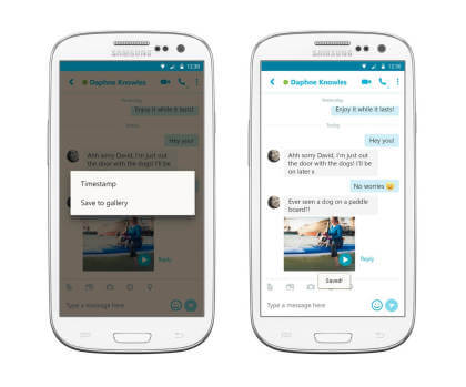 Skype f�r Android 6.11