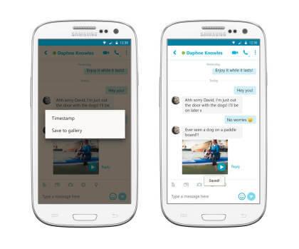 Skype für Android 6.11