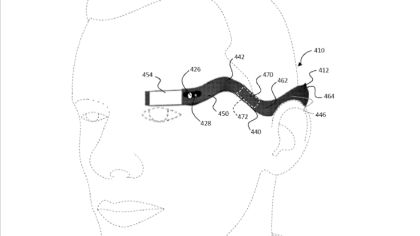 Google Glass Monokel Patent